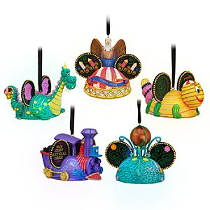 Main Street Electrical Parade Light-Up Ear Hat Ornament Set