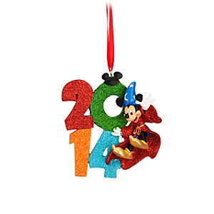 Sorcerer Mickey 2014 Ornament - Walt Disney World