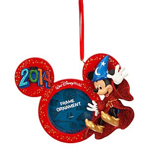 Sorcerer Mickey 2014 Frame Ornament - Walt Disney World