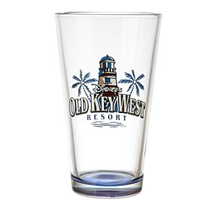 Disneys Old Key West Resort Glass Tumbler - Limited Availability
