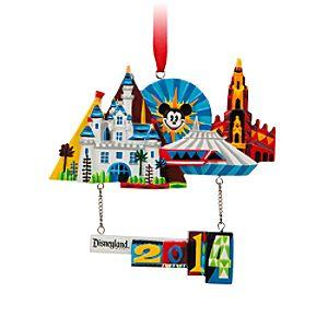 Disneyland Resort 2014 Dimensional Ornament