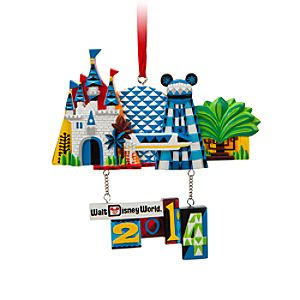 Walt Disney World Resort 2014 Dimensional Ornament