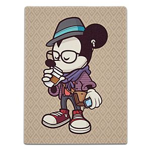 Mickey Mouse Hipster Mickey Giclée on Canvas - Gallery Wrapped - Miniature