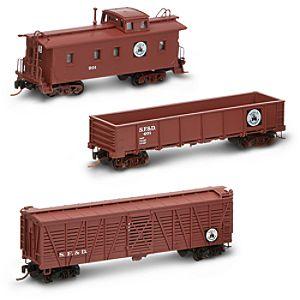 Disneyland Railroad 1955 Freight Train Car Set by Olszewski