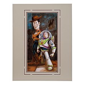 Toy Story Buzz & Woody Deluxe Print by Darren Wilson