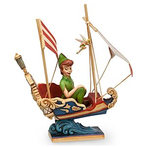 Peter Pans Flight Figure by Jim Shore