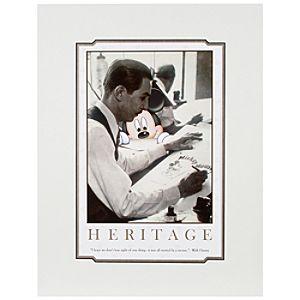 Walt Disney Heritage Deluxe Print