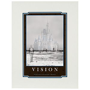 Walt Disney Vision Deluxe Print - Walt Disney World