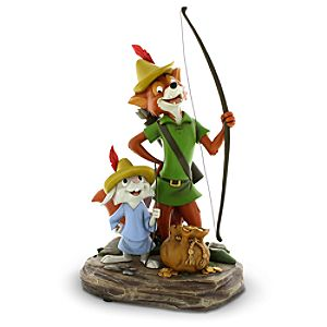 Robin Hood and Skippy Figure