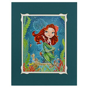Ariel Imagine Deluxe Print by John Coulter