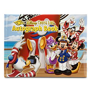 Disney Cruise Line Autograph Book