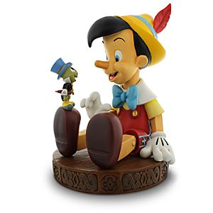 Pinocchio and Jiminy Cricket Figure