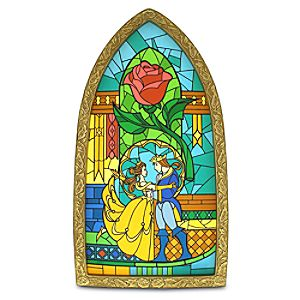 Beauty and the Beast Window Replica