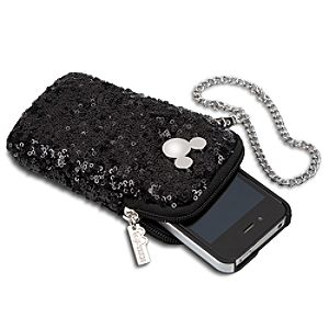 Mickey Mouse Icon Sequined Smartphone Case
