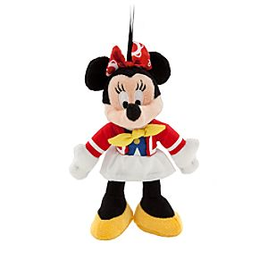 Cruise Director Minnie Mouse Plush Ornament - 6