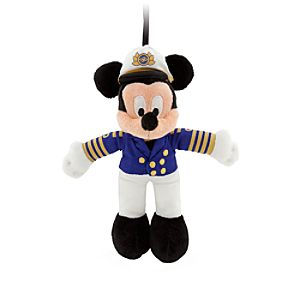 Captain Mickey Mouse Plush Ornament - 6