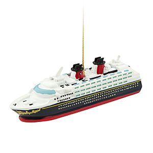 Disney Cruise Line Ship Ornament