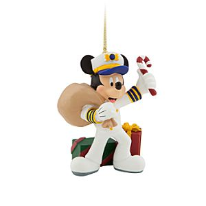 Captain Mickey Mouse Ornament - Disney Cruise Line