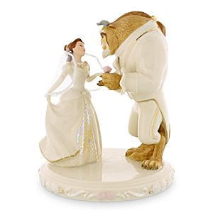 Beauty and the Beast Belles Wedding Dreams Figure by Lenox