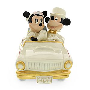 Mickey and Minnie Mouse Minnies Dream Honeymoon Figure by Lenox