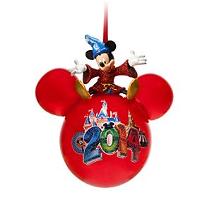 Sorcerer Mickey Mouse Icon Ornament - Disneyland 2014