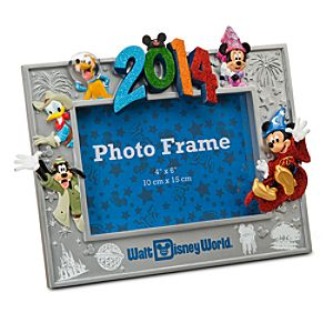 Sorcerer Mickey Mouse and Friends Photo Frame - Walt Disney World 2014