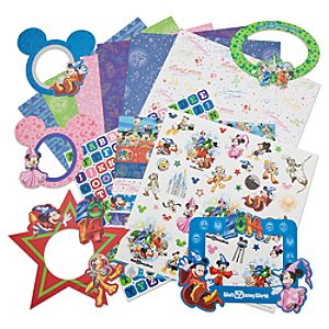 Sorcerer Mickey Mouse Scrapbook Kit - Walt Disney World 2014 - Large