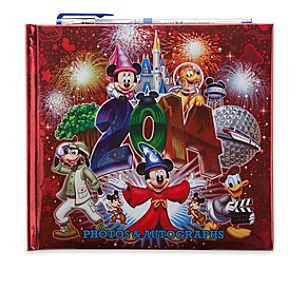 Sorcerer Mickey Mouse and Friends Autograph Book - Walt Disney World 2014