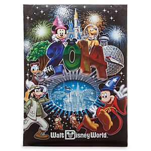 Sorcerer Mickey Mouse Photo Album - Walt Disney World 2014 - Large