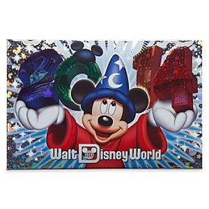 Sorcerer Mickey Mouse Photo Album - Walt Disney World 2014 - Small