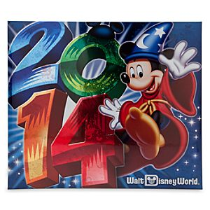 Sorcerer Mickey Mouse Scrapbook Album - Walt Disney World 2014 - Large