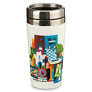 Walt Disney World 2014 Ceramic Travel Mug