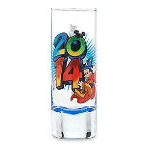 Sorcerer Mickey Mouse and Friends Mini Glass - Walt Disney World 2014