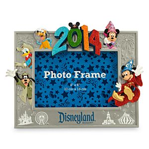 Sorcerer Mickey Mouse and Friends Photo Frame - Disneyland 2014