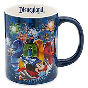 Sorcerer Mickey Mouse Mug - Disneyland 2014