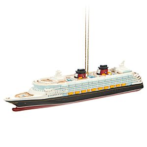 Disney Magic Ornament - Disney Cruise Line