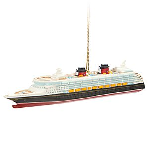 Disney Wonder Ornament - Disney Cruise Line