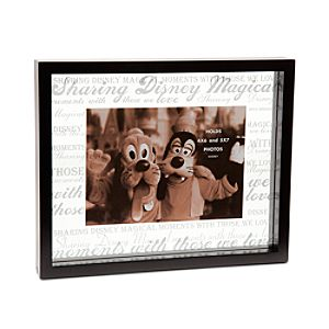 Disney Parks Frosted Glass Photo Frame