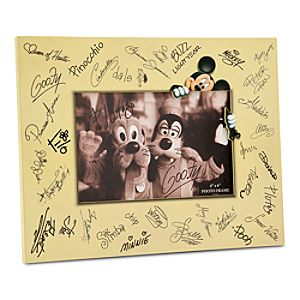 Disney Characters Signature Photo Frame - 4 x 6