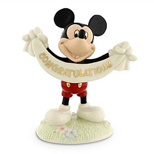 Mickey Mouse Congratulations Figurine by Lenox