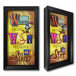 Jiminy Cricket When You Wish Upon a Star Shadowbox by Dave Avanzino