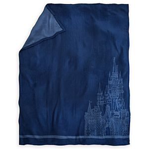 Cinderella Castle Fleece Throw - Walt Disney World