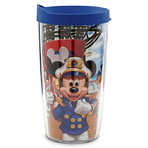 Captain Mickey Mouse and Friends Travel Tumbler - Disney Cruise Line