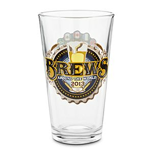 Epcot Brews Around the World Pint Glass - Limited Availability