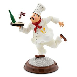 Epcot International Food & Wine Festival Chef Chauncy Bobblehead Figure - Limited Availability