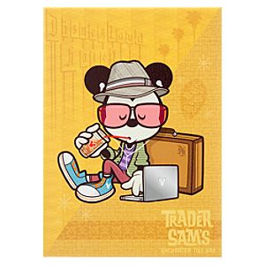 Mickey Mouse Hanging at Sams Giclée on Canvas - Gallery Wrapped - Large