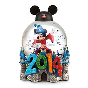 Sorcerer Mickey Mouse Snowglobe - Walt Disney World 2014