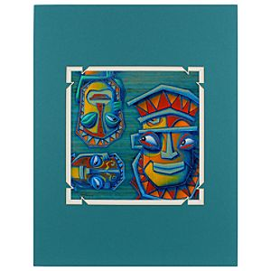 The Enchanted Tiki Room Mystical Tikis Deluxe Print by Jimmy Pickering