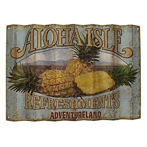 Aloha Isle Refreshments Wall Sign - Walt Disney World