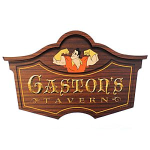 Gastons Tavern Wall Sign - Walt Disney World